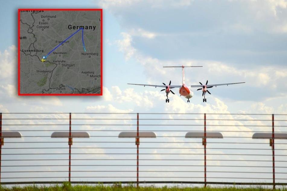Luftnotlage! Airberlin-Maschine muss in Nürnberg runter
