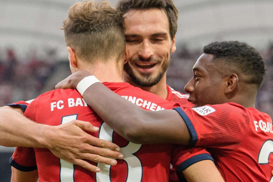 Bayern muss gegen Leverkusen ohne Mats Hummels und Leon Goretzka antreten.