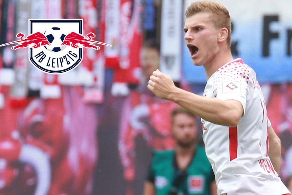 Ein Knipser, ein Kapitän und ein Genie: RB Leipzig feiert ersten Sieg