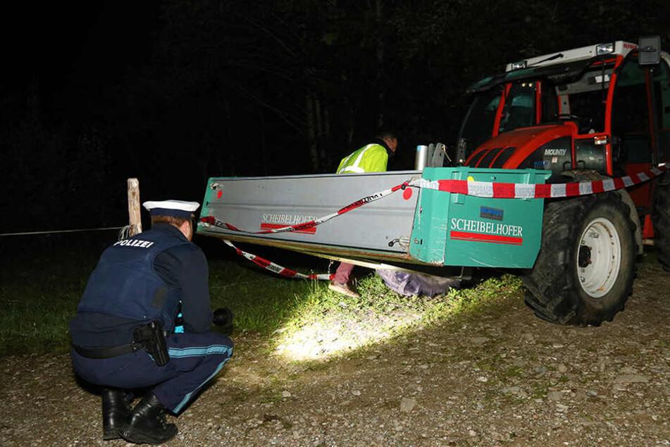 Tragischer Traktor-Unfall im Allgäu: Zwei Kinder sterben