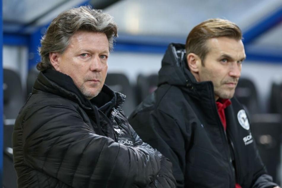 Ex-DSC-Co-Trainer Carsten Rump (r.) möchte wieder mit Jeff Saibene zusammenarbeiten.