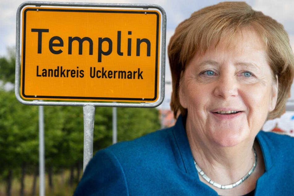 Große Freude: Angela Merkel wird heute Ehrenbürgerin ihrer Heimatstadt