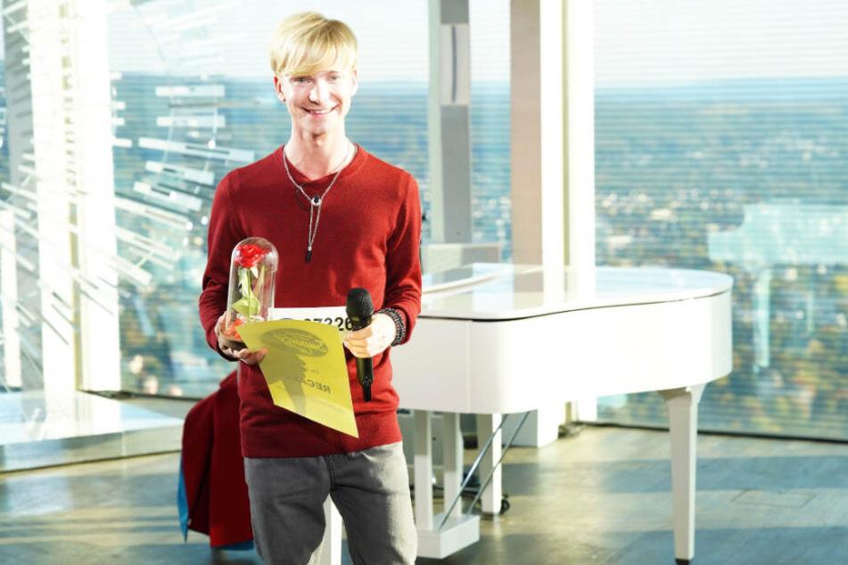Der 25-jährige Musical-Sänger Moritz Bierbaum gehört zu den 120 Kandidaten des ersten DSDS-Recalls.
