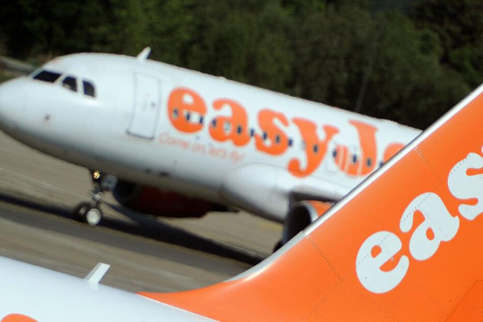 Auf einem EasyJet-Flug verlor eine Mutter völlig die Kontrolle.