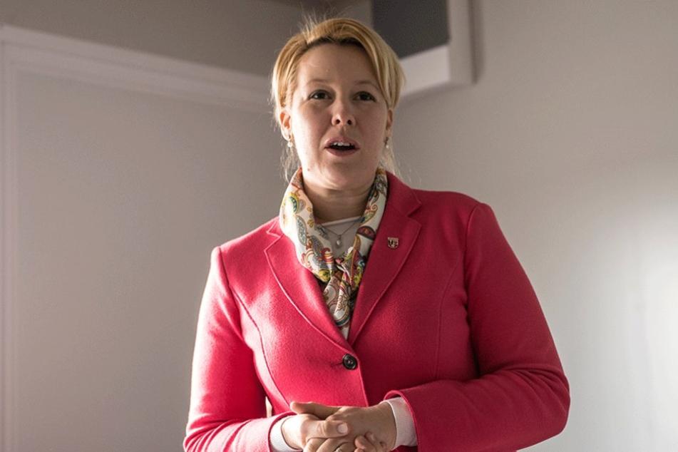 Neuköllns Bürgermeisterin Franziska Giffey (SPD) hatte bisher keine Probleme in der Zusammenarbeit mit AfD-Politikern.