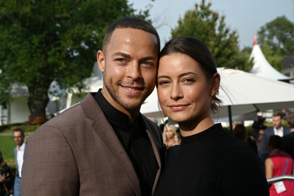 Andrej Mangold (32) mit seiner Freundin Jennifer Lange (26) beim CHIO in Aachen (Archivbild).