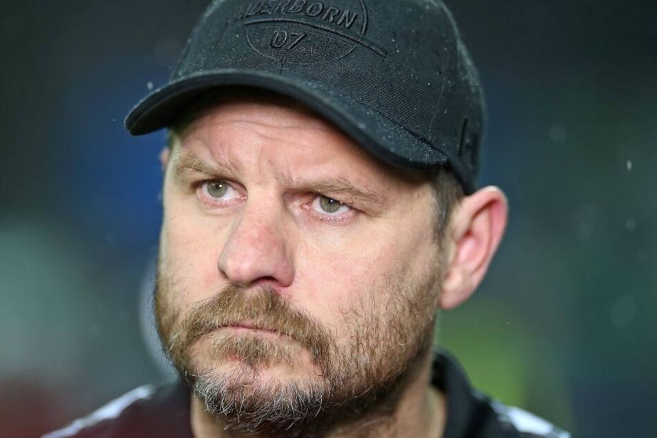 SCP-Coach Steffen Baumgart steht voll und ganz hinter seinen Jungs.
