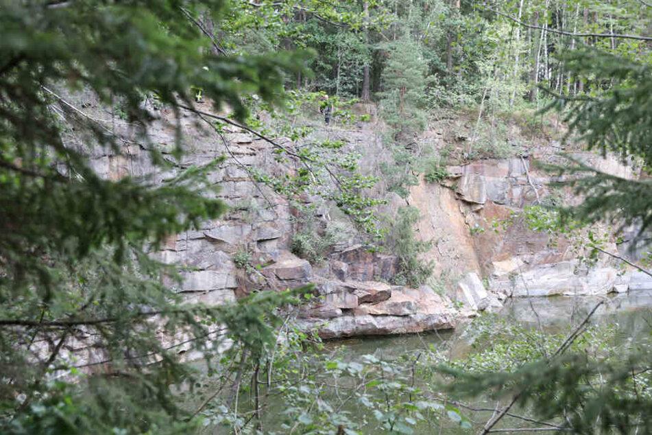 In der Gegend um Kubschütz gibt es zahlreiche Granit-Steinbrüche.