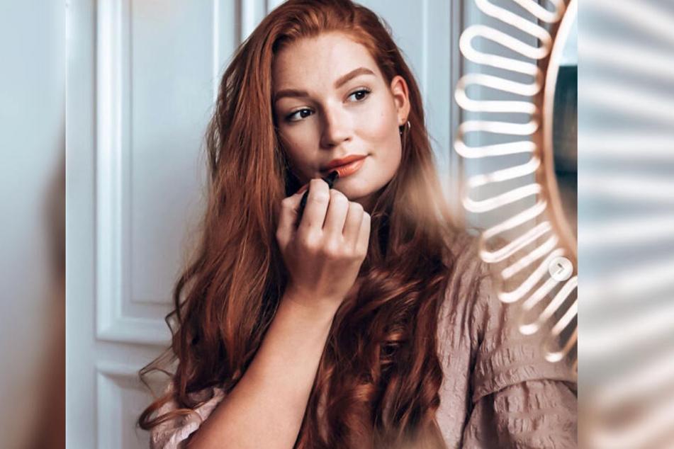 Model Jana Heinisch meldet sich täglich bei ihren Instagram-Fans.