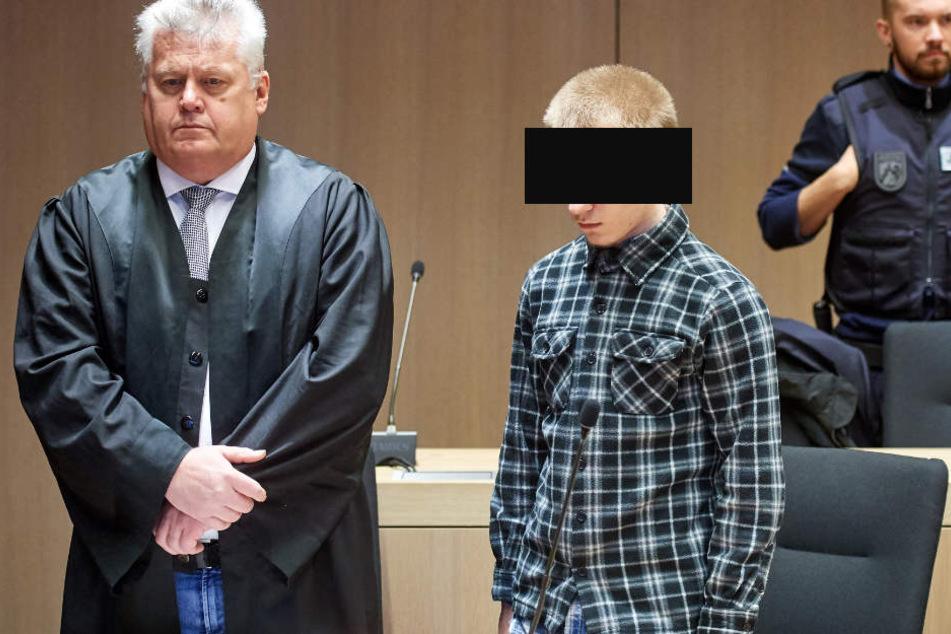 Marcel H. (20, mi.) soll laut Staatsanwaltschaft für immer hinter Gittern bleiben.