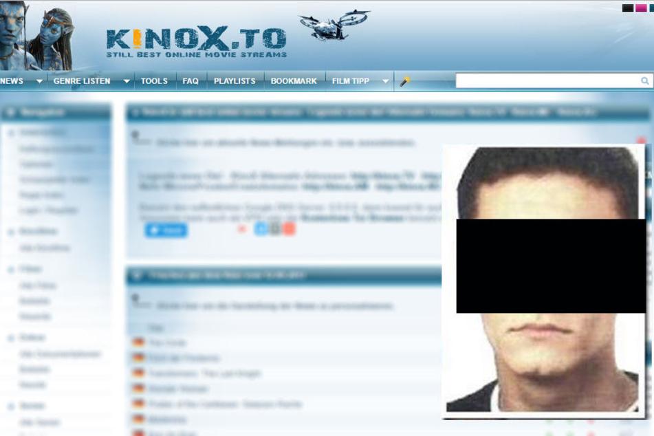 Die Polizei hat den mutmaßlichen Kinox.to-Betreiber festgenommen.