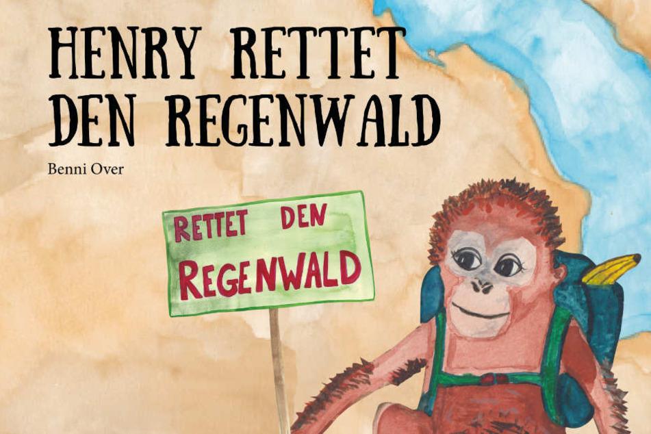 "Cover des Buches ""Henry rettet den Regenwald""."