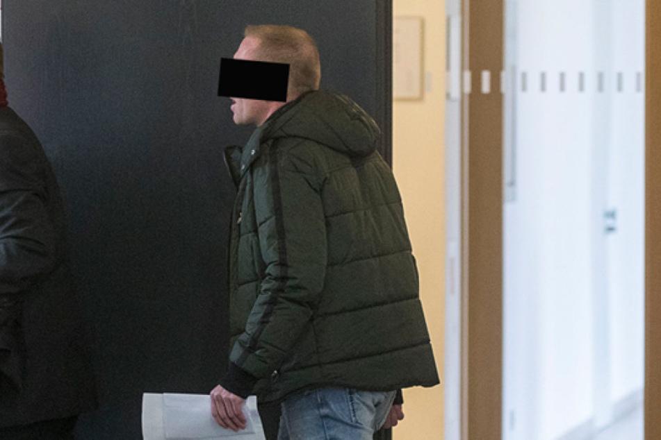Henry S. (40) musste vor Gericht,  weil er im Drogenrausch Straftaten begangen hat.