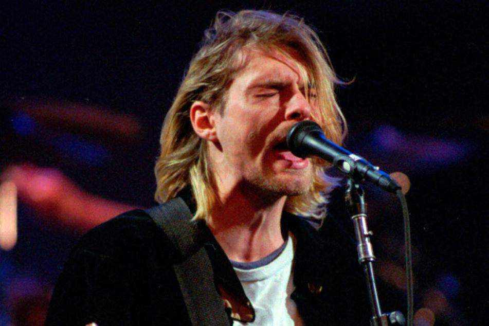 """Kurt Cobain war Sänger der Band """"Nirvana"""" und Sprachrohr einer ganzen Generation."""