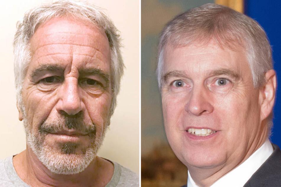 Prinz Andrew (re.) gerät wegen seiner Freundschaft zu Jeffrey Epstein (li.) zunehmend unter Druck.