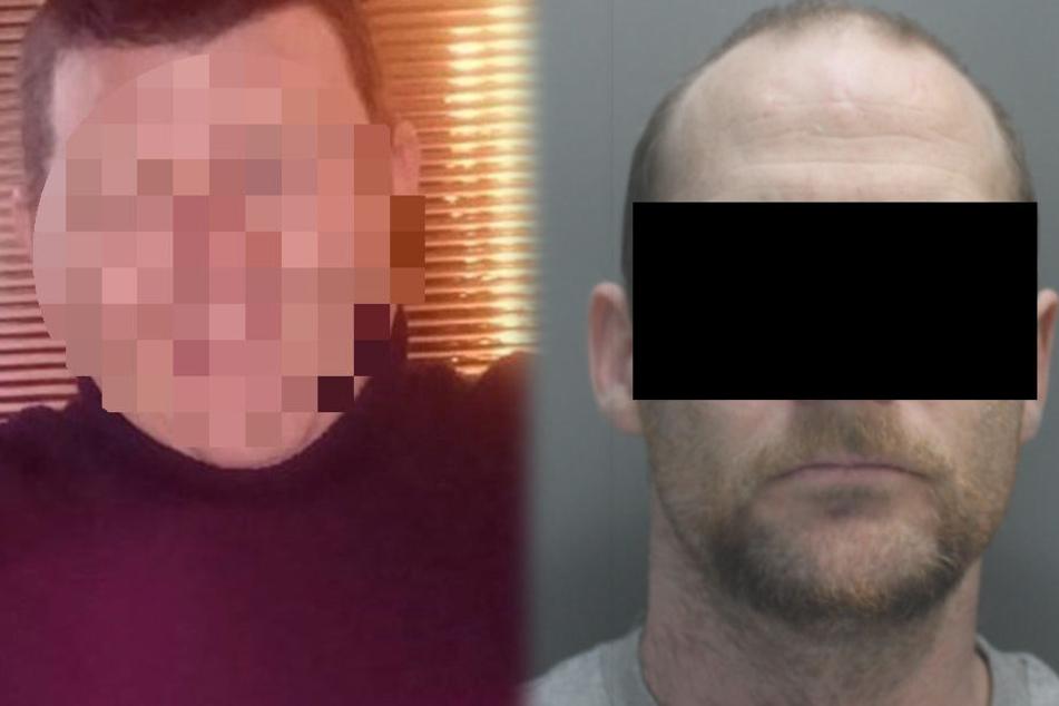 Ian Robertson (r.) wurde des Mordes an Robert Sempey für schuldig befunden.