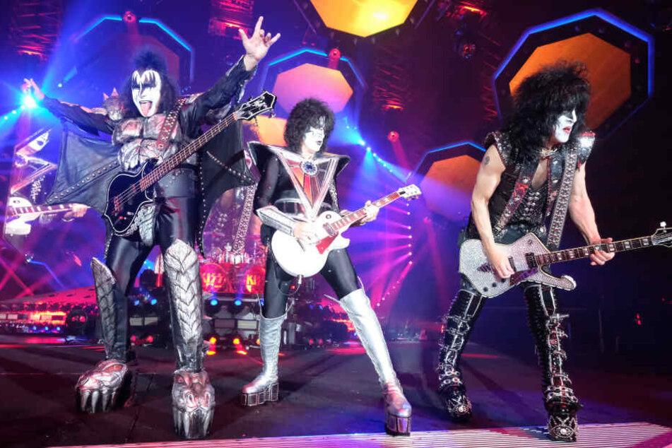 War es die letzte Tour? Kiss bringen Leipziger Arena zum Kochen