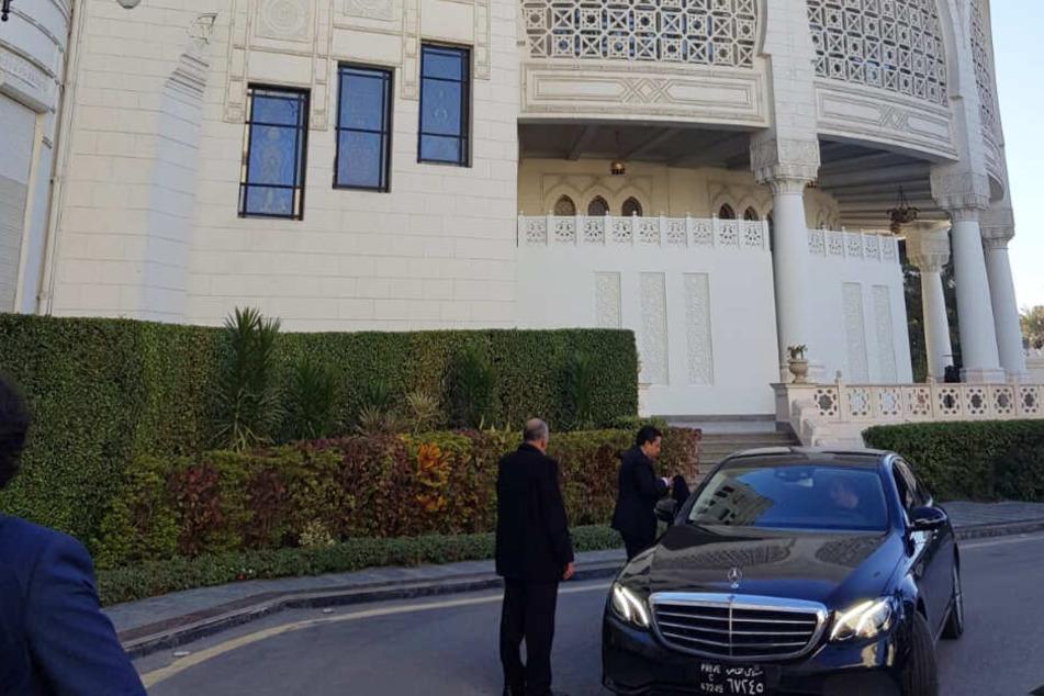 Der Präsidentenpalast in Kairo: Hier fand die zeremonielle Ordensübergabe statt.