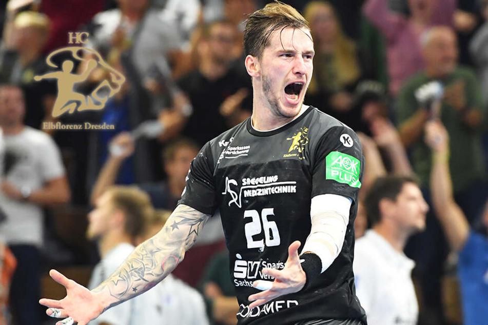 Irres Handball-Wunder! HC Elbflorenz schafft die Wende und den Sieg in letzter Sekunde