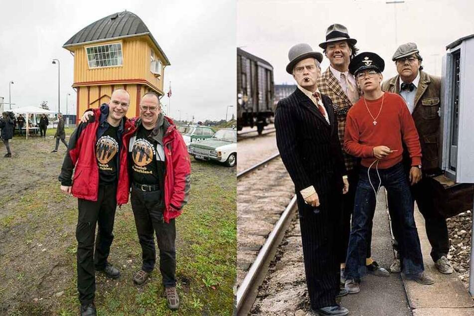 Nach Rettung von Olsenbanden-Stellwerk: Børge kommt nach Sachsen