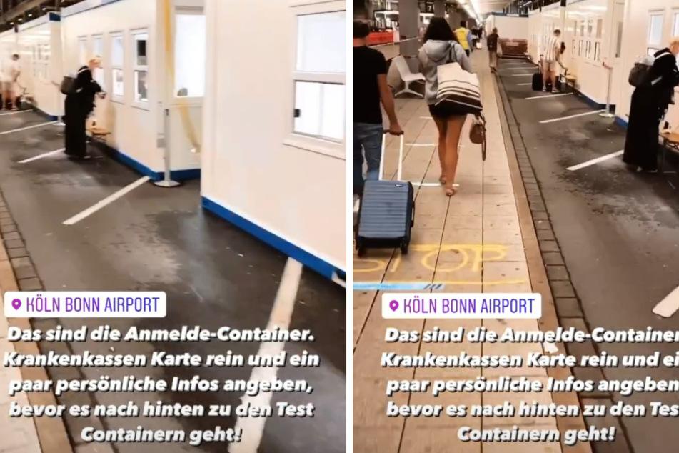 Andrej Mangold (33) musste sich im Flughafen auf Corona testen lassen. (Fotomontage)