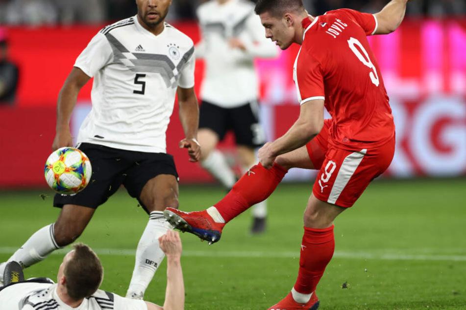 Luka Jovic zeigte gegen Deutschland, warum er das Potenzial