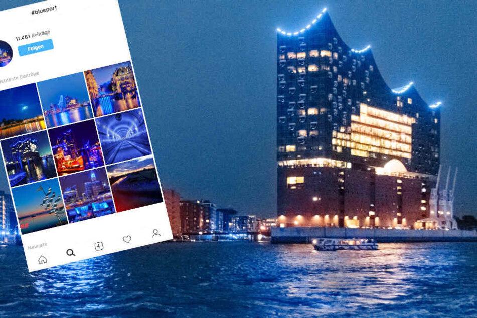 """Sind Instagram-Fotos vom """"Blue Port Hamburg"""" verboten?"""