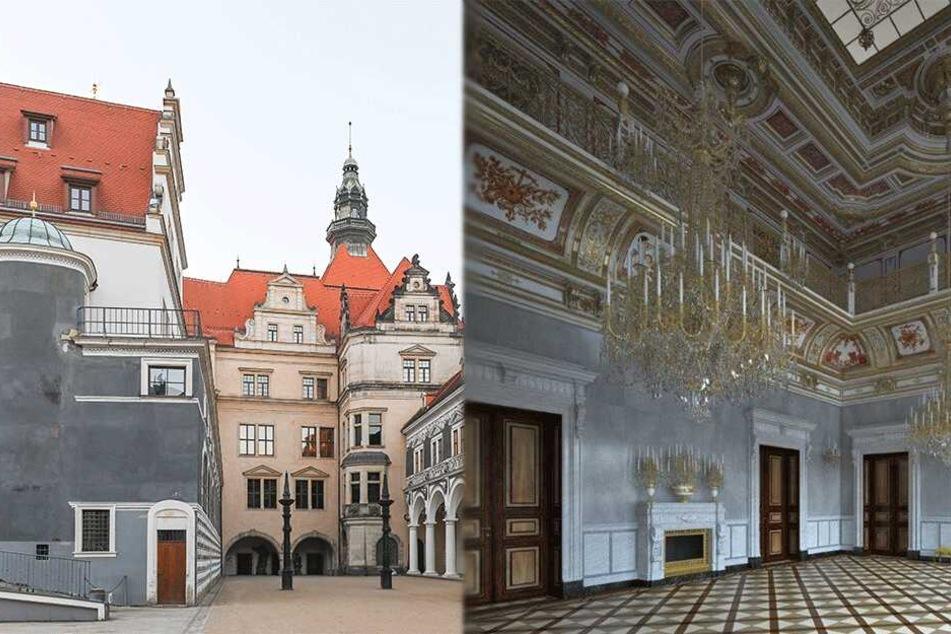 Dresden: Kleiner Ballsaal erstmals für die Öffentlichkeit im Residenzschloss zugänglich