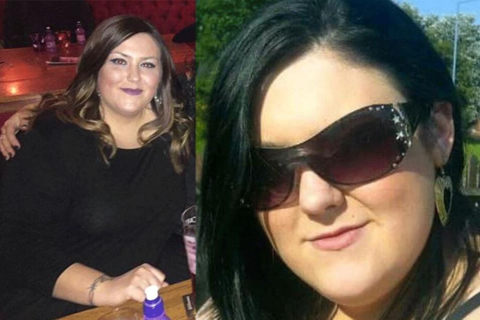 Steph O'Shea (27) vor ihrer Diät.