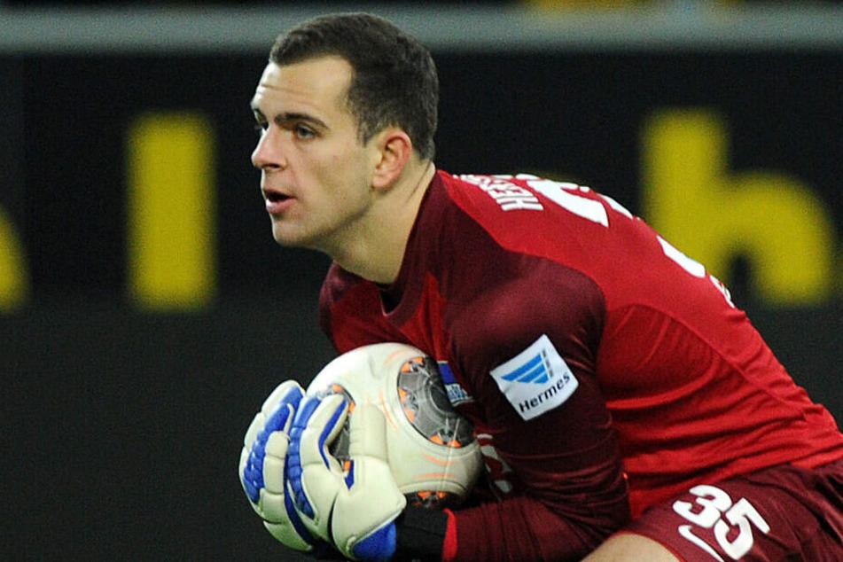 Gegen Borussia Dortmund feierte Gersbeck sein Bundesligadebüt. Es sollte sein einziger Einsatz in der 1. Liga bleiben.