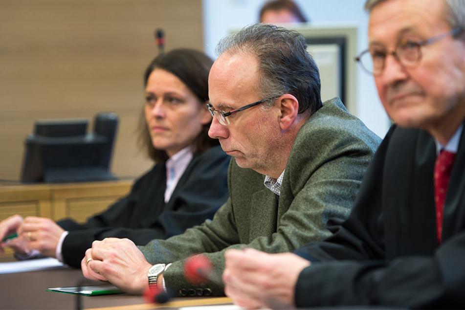 Ex-Chef der Kommunalen Wasserwerke Leipzig, Klaus Heininger 2013 beim Prozess in London.