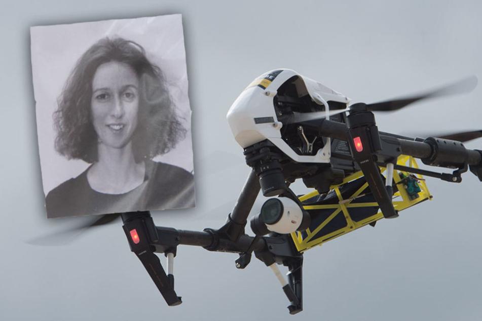 Um das Gebiet zu fotografieren, setzten die Polizisten eine Drohne ein. (Symbolbild)