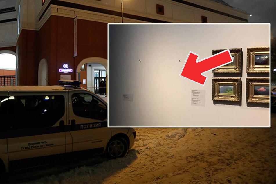 Dieb klaut berühmtes Gemälde aus Museum, die Reaktion des Sicherheitspersonals macht sprachlos