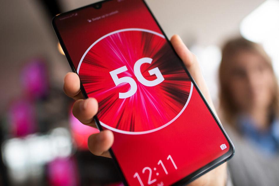 Testbetrieb startet: Erster Ort in Sachsen hat 5G-Netz