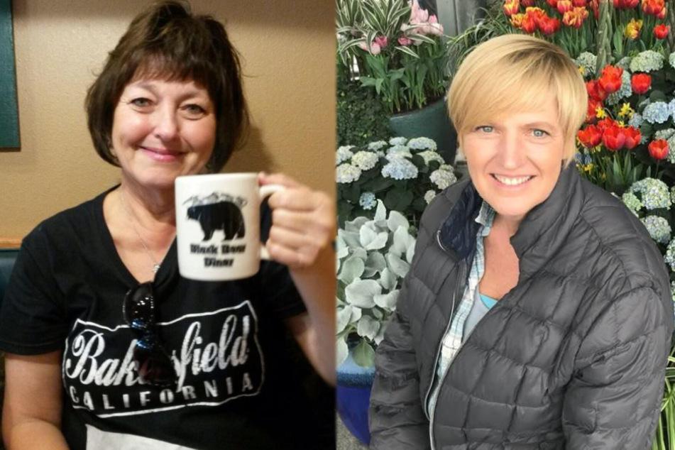 Sind froh noch am Leben zu sein. Links: Elizabeth Newman Cottriel. Rechts: Julie McSorley.
