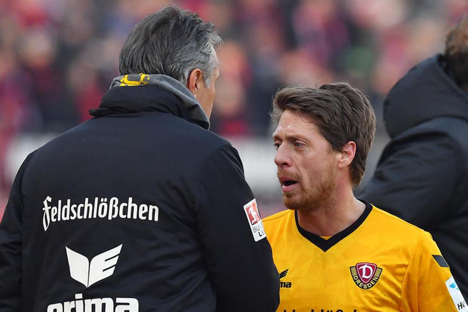"""Andreas 'Lumpi"""" Lambertz wird wahrscheinlich gegen seinen Heimatverein Düsseldorf fehlen. Auch er leidet unter dem Infekt."""