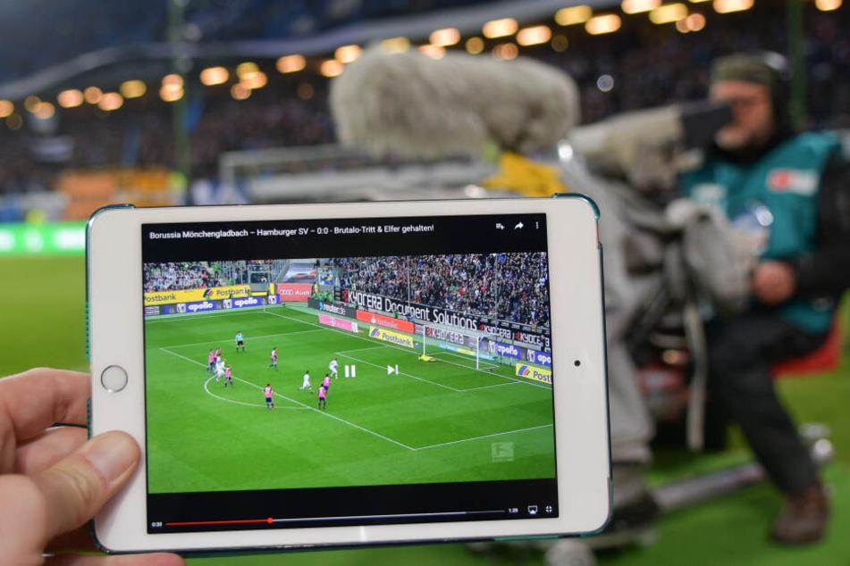 Das DFB-Pokal-Wochenende brachte dem Pay-TV-Sender Sky Sport enorme Reichweite. (Archivbild)