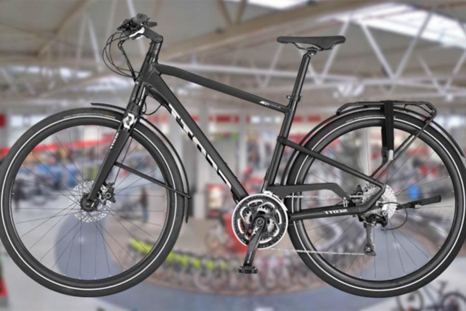 Dieses moderne, pflegeleichte Urban-Bike ist das perfekte Fortbewegungsmittel für die Stadt.