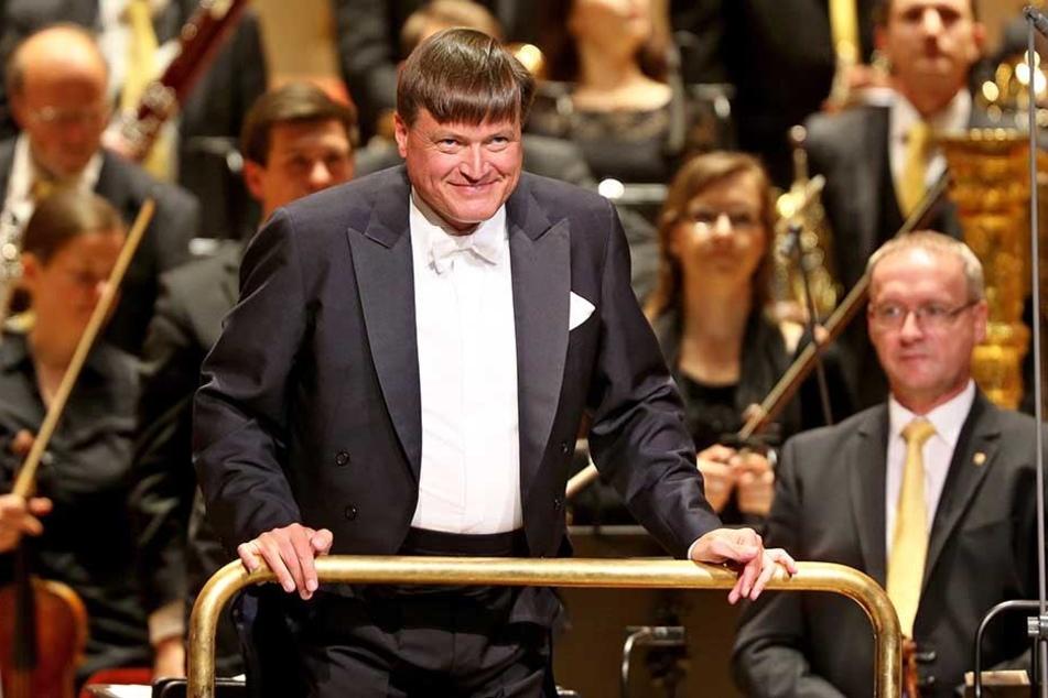 Christian Thielemann (59), Dirigent der Sächsischen Staatskapelle Dresden.