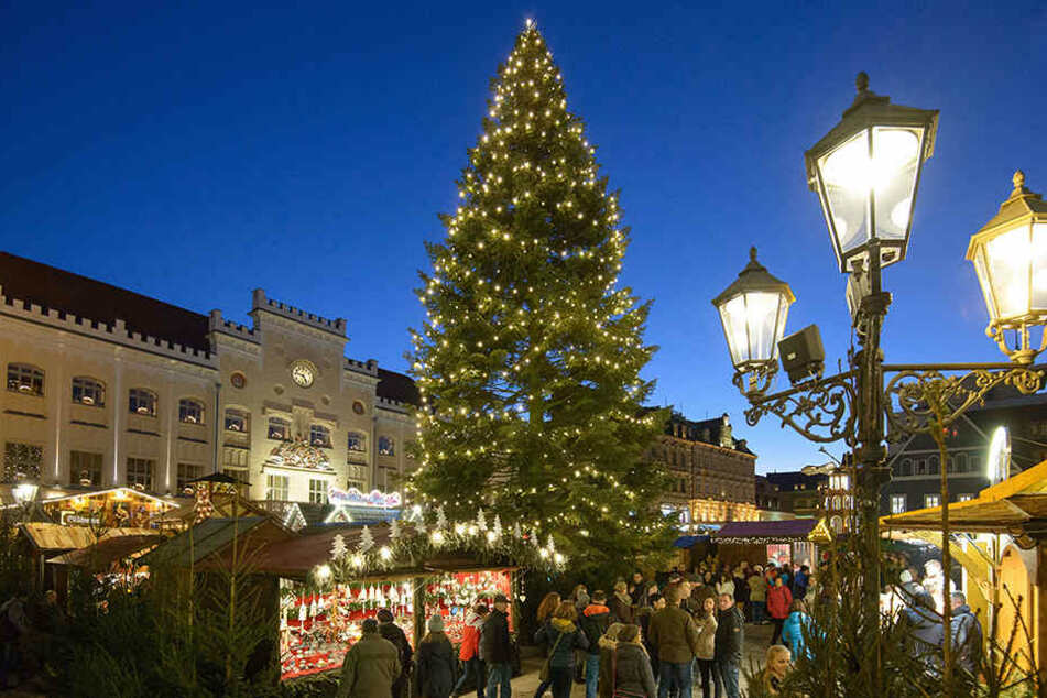 Der Zwickauer Weihnachtsmarkt hat in diesem Jahr beim großen MDR-Test den ersten Platz geholt.
