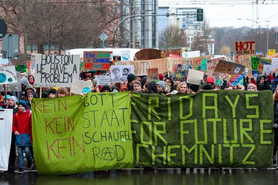 Am Freitag wird in Chemnitz wieder für das Klima demonstriert.