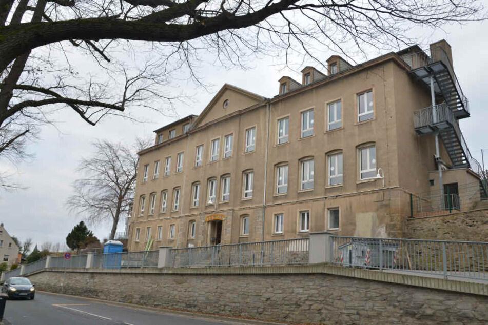 Die Grundschule in Klaffenbach wird derzeit teilweise saniert.