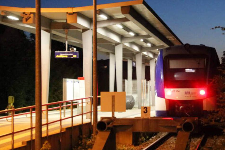 In Füssen wurde in Bayern ein Schuss auf einen Regionalzug abgefeuert.