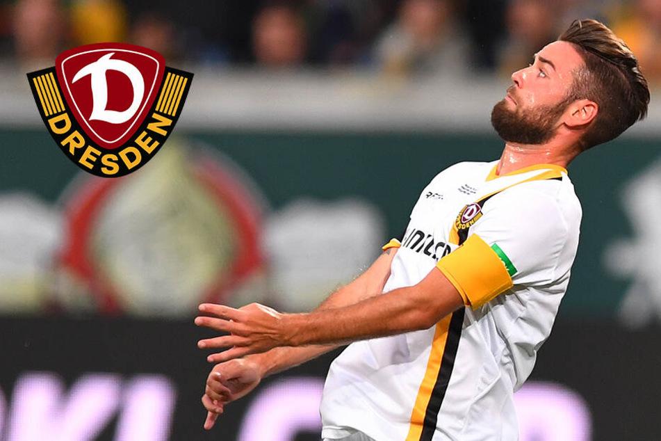 Dynamo: Wird Niklas Kreuzer heute der neue Kapitän?