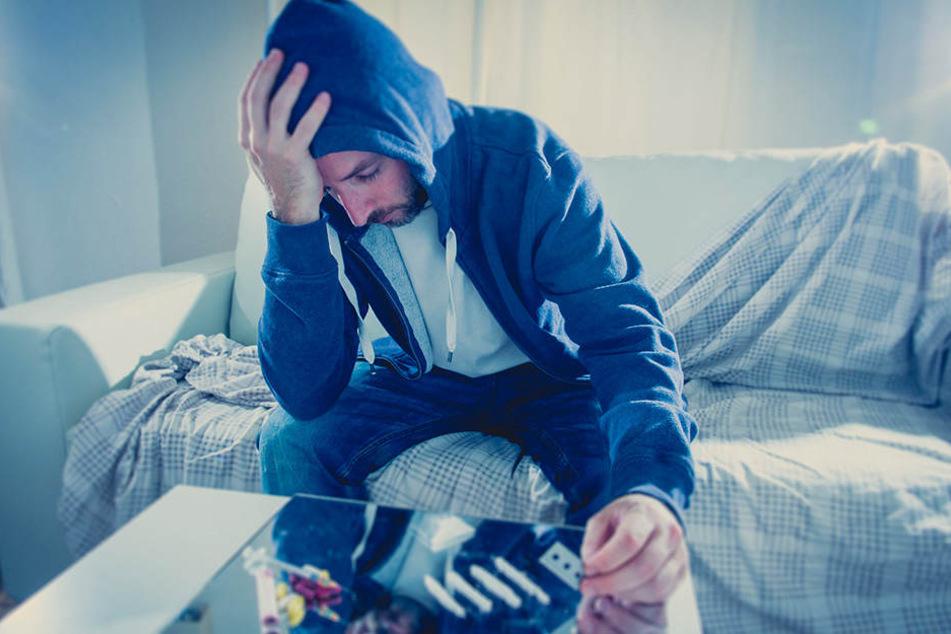 Hingegen schrecken härtere Drogen, wie zum Beispiel Koks, jüngere Menschen immer noch ab (Symbolbild).