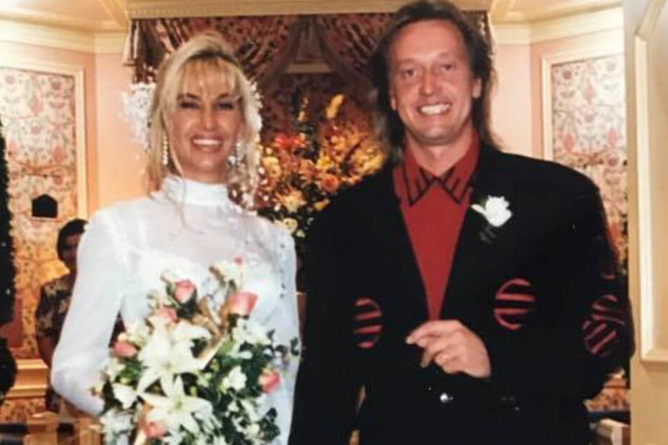 Carmen und Robert Geiss bei ihrer Hochzeit in Las Vegas.