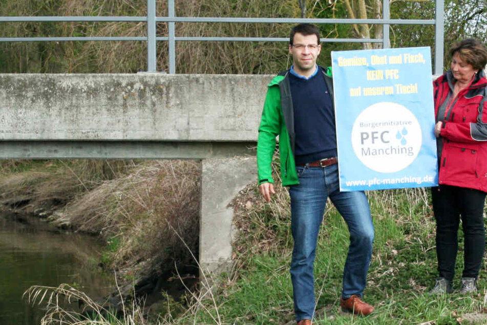 PFC-Belastung: Eine kleine Gemeinde in Oberbayern hat den Kampf aufgenommen.