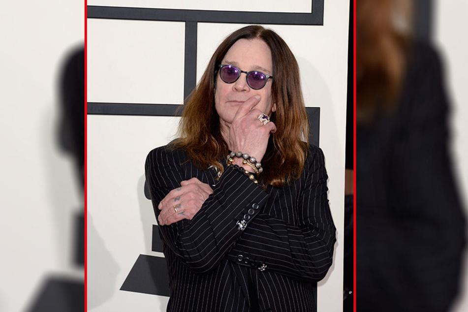 Ozzy Osbourne (69) musste am vergangenen Samstag ein Konzert im US-amerikanischen Mountain View absagen.