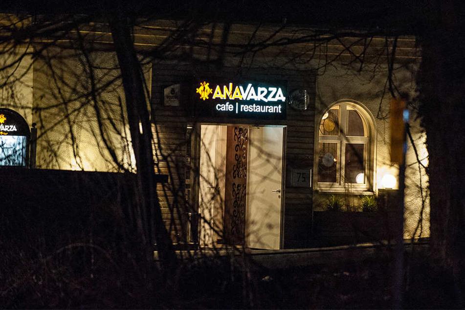 Aus dem türkischen Restaurant wurden alle Gäste evakuiert.