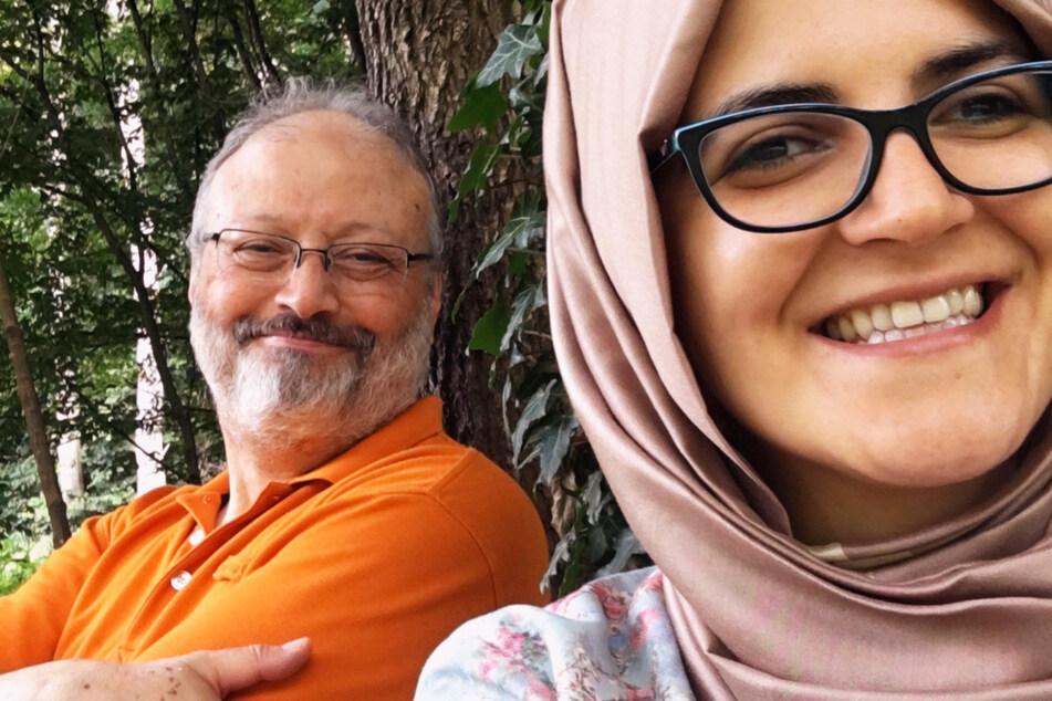 Jamal Khashoggi (†59, l.) lernte Hatice Cengiz (39) bei einer Konferenz über den Nahen Osten kennen. Sie, eine junge Akademikerin, interviewte ihn und so begann ihre tragische Beziehung.